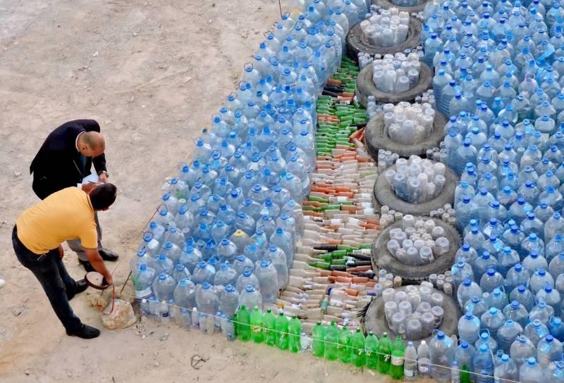 Mosaïque recyclée et record mondial