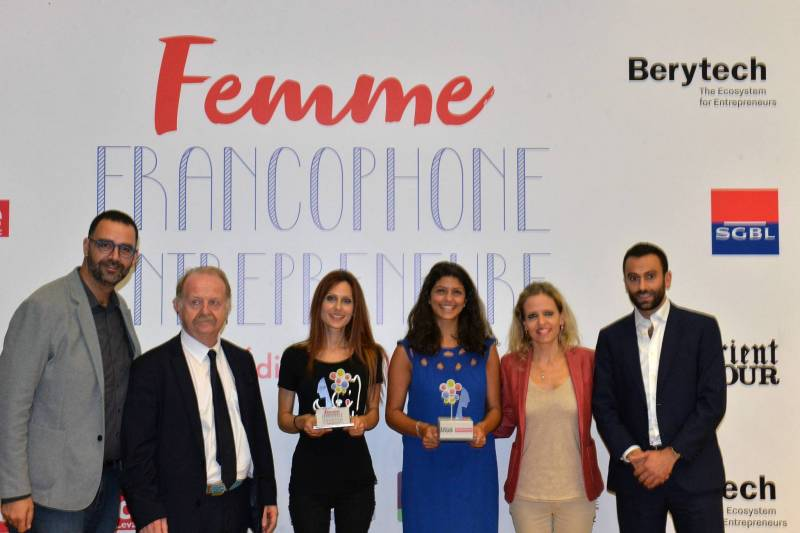 Femme francophone entrepreneure